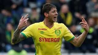 Argentinske Emiliano Sala var lige skiftet fra den franske klub FC Nantes til Premier League-klubben Cardiff, inden han forsvandt.