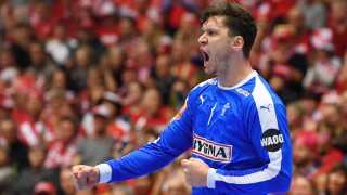 Niklas Landin skræmte de svenske skytter.