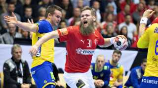 Nikolaj Øris scorede tre mål i første halvleg.