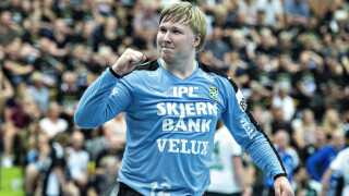 Målmand Emil Nielsen skifter efter denne sæson fra Skjern Håndbold til franske Nantes.