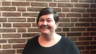 Lisbet Collett-Overgaard er glad for samarbejdet med skolens socialrådgiver.