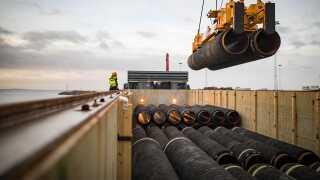 Den nye gasrørledning skal øge andelen af russisk gas i Europa.
