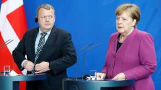 Den danske statsminister, Lars Løkke Rasmussen (V), har sammen med den tyske kansler, Angela Merkel, været en del af striden.