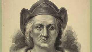 Christoffer Columbus ankom til Amerika i 1492. Han har siden fået æren for at opdage Amerika på trods af, at der allerede levede mennesker, og at vikingerne havde været forbi inden.