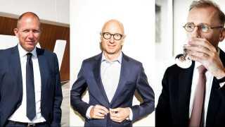 Jens Bjørn Andersen (DSV), Lars Fruergaard Jørgensen (Novo Nordisk) og Cees 't Hart (Carlsberg) er blandt de fem direktører, der har oplevet massive lønhop de sidste år.
