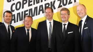 Tour de France i Danmark blev præsenteret på Københavns Rådhus.