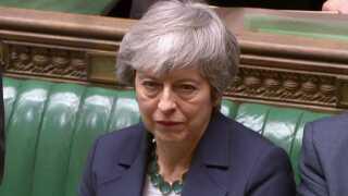 I aften skal de britiske parlamentarikere beslutte, om de ønsker at forlade EU uden en aftale.
