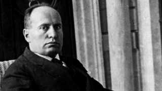 Benito Mussolini var leder af det fascistiske parti i Italien og landets leder fra 1922 til 1943.