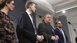 Regeringen og Dansk Folkeparti præsenterede i dag en aftale om en sundhedsreform i Spejlsalen i Statsministeriet.