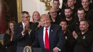 Donald Trump udråbte hurtigt sig selv som vinder, efter rapporten blev offentliggjort.