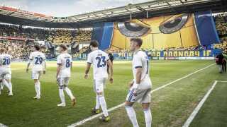 Sådan så det ud for knap to uger siden, da FCK gæstede Brøndby Stadion.