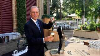 Direktør for ølvirksomheden Carlsberg,Cees 't Hart, tjente 52,5 millioner kroneri 2018.