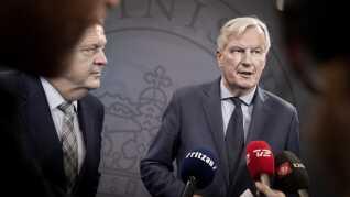 EU's brexit-chefforhandler, Michel Barnier, var tidligere på ugen i København. Han vil hverken be- eller afkræfte, om han er i spil til en EU-toppost.