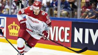 Mikkel Bødker nåede kun at spille en testkamp for Danmark.