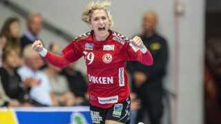Team Esbjerg og Estavana Polman er godt på vej mod DM-guld.