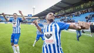 Rodolph Austin og resten af oprykkerholdet fra Esbjerg kan selv sikre sig bronzemedaljerne med en sejr over FCM.