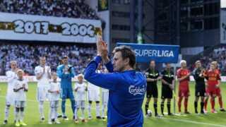 William Kvist spillede i dag sin sidste kamp for FC København efter over 400 kampe for klubben.