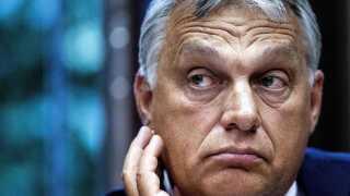 Ungarns premierminister Viktor Orbàn volder problemer for EPP-gruppen og hermed også for Weber.