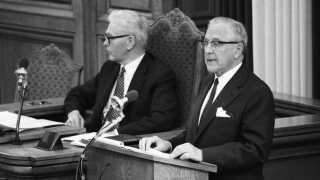 Den konservative justitsminister Knud Thestrup blev kendt i eftertiden som politikeren, der satte billedpornografien fri.