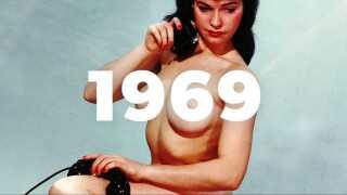 En pornografisk revolution ramte Danmark i 1969, men den varede kun i nogle år.