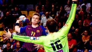 Lasse Andersson kan vinde sin første Champions League-titel med Barcelona.