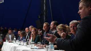 Flere partiledere til debat ved Naturmødet i Hirtshals torsdag den 23. maj 2019.