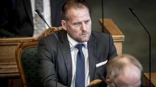 Finansordføreren i Dansk Folkeparti, René Christensen, er skuffet over den manglende opbakning til partiet på Sjælland.