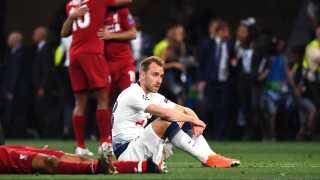 Christian Eriksen var en skuffet mand efter Tottenham-nederlaget i Champions League-finalen til Liverpool.