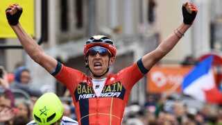 Bahrain-Merida-rytteren Dylan Teuns vinder anden etape.