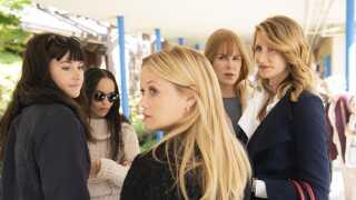 'Big Little Lies' er en stjernespækket serie med Shailene Woodley, Zoë Kravitz, Reese Witherspoon, Nicole Kidman og Laura Dern i hovedrollerne. Serien modtog hele fire Golden Globe-statuetter for sin første sæson.