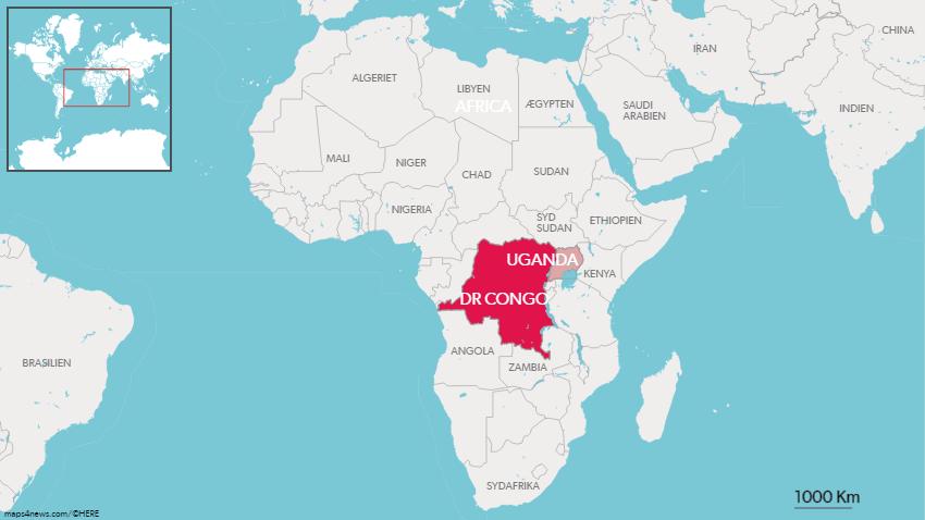 Det første tilfælde af ebola er nu konstateret i Uganda.