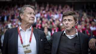 Åge Hareide og Jon Dahl Tomasson skal føre Danmark til EM i 2020. Derefter overtager Kasper Hjulmand og Morten Wieghorst rollerne som landstræner og assistenttræner.