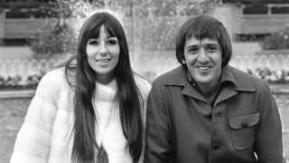 Sonny & Cher fotograferet i Tivoli, København, i 1966. De er blandt de kunstnere, hvis masterbånd blev ødelagt i den tragiske brand.
