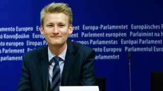 Peter Kofod (DF) glæder sig til at samarbejde med den andre EU-skeptiske højrefløjspartier i EU.