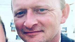 Kim Thyge Bjerg ses her på et ældre privat foto.