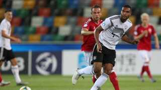 Marcus Ingvartsen er den mest scorende spiller i historien på U21-landsholdet. Det var ikke til at se mod Tyskland.