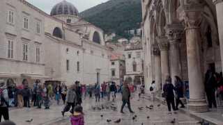 Den gamle bydel i Dubrovnik har været kulisse for flere af scenerne i tv-serien 'Game of Thrones'.