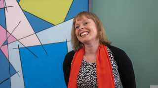 Joy Mogensen har stået i spidsen for en stor kulturby, men nu venter landspolitikken og udfordringerne der.