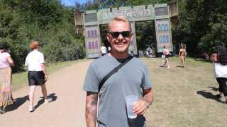 Rasmus Kjær Buhl mener at have set mange stofpåvirkede festivalgæster på Tinderbox. Men han tror ikke, det er mere udbredt på den fynske festival, end det er alle andre steder.