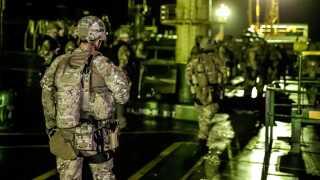 Britiske marinesoldater var i sidste uge med til at beslaglægge et iransk skib, som man mente transporterede olie til Syrien.