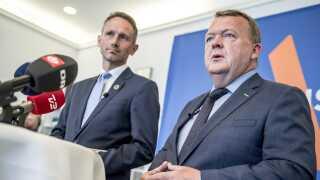"""Venstres næstformand, Kristian Jensen, og partiets formand, Lars Løkke Rasmussen, blev i 2014 enige om sammen at """"løfte opgaven med at skabe ro og tryghed i Venstres egne rækker""""."""