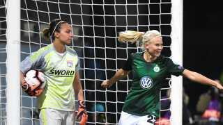Pernille Harder blev matchvinder for Wolfsburg (arkivfoto).