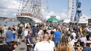 The Tall Ships Races i Aarhus Havn i 2019.