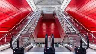 Gammel Strand. - Det er en meget fint detaljeret metro, vi har i København, slutter den 83-årige arkitekt.