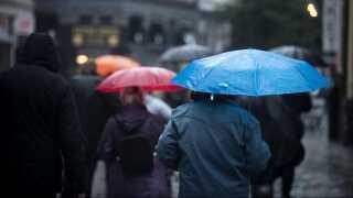 De seneste uger har regn passeret landet med hyppige mellemrum.
