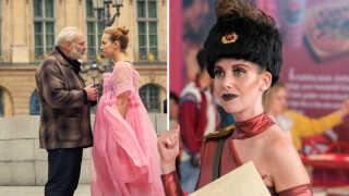 Emmy-akademiet har overset bl.a. Kim Bodnia i serien 'Killing Eve' (t.v.) og Alison Brie i 'GLOW' (t.h.) i deres nomineringer i år.