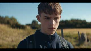 Vilmer Trier Brøgger spiller hovedrollen Bjarke i den nye film 'Brakland'.