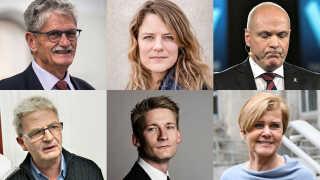 Blandt de politikere, der ikke genopstiller til Folketinget, er både tidligere partiformænd og ministre.
