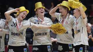 Team Esbjerg vandt DM-guld i den anden DM-finale i kvindehåndbold mellem Herning-Ikast Håndbold og Team Esbjerg,