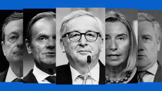 Det er store skiftedag i EU, hvor fem topposter skal besættes.